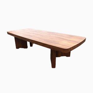 Grande Table Basse en Orme Massif