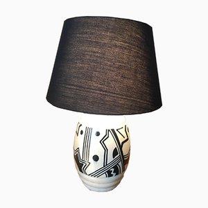 Art Deco Ceramic Lamp