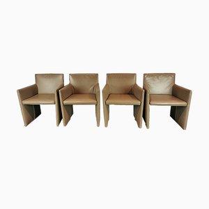 Italian Posa Armchairs, Set of 4