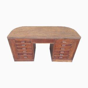 Art Deco Oak Office Desk