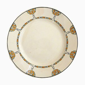 Art Deco Dish from Longwy, 1930s