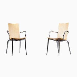 Modell Olly Tango Stühle von Philippe Starck für Driade Aleph, 2er Set