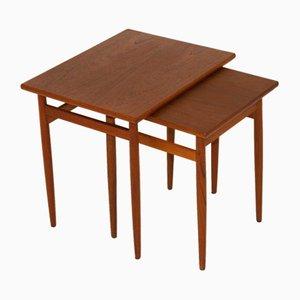 Tables de Seffle Möbelfabrik, Suède, 1960s, Set de 2