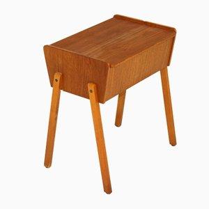 Teak Werktisch, Schweden, 1960er