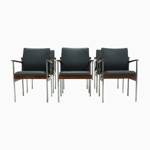 Dining Chairs by C. Denekamp for Thereca, 1970s, Set of 6