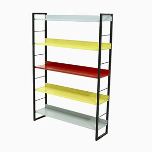 Mid-Century Dutch Bookcase by A. Dekker for Tomado Hjolland, 1950s