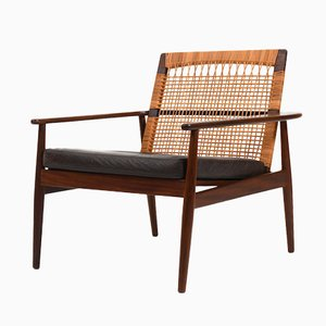 Model 519 Easy Chair by Hans Olsen for Juul Kristensen