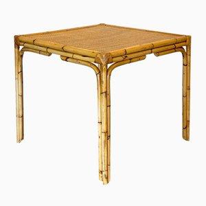 Korbgeflecht Tisch, 1970er