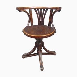 Chaise de Bureau Pivotante d'Avant-Guerre de Thonet