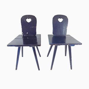 Kitchen Chairs, 1900s, Set of 2