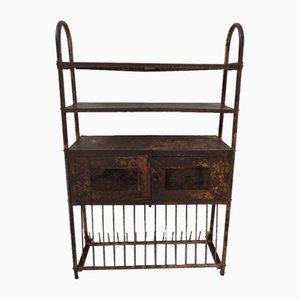 Industrial Metal Kitchen Cabinet