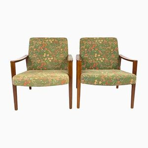 Nordic Lounge Chairs, 1960s, Set of 2