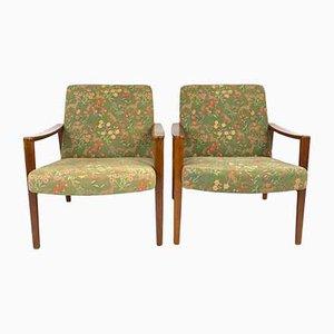 Nordische Sessel, 1960er, 2er Set