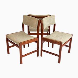 Dänische Teak Stühle von Kurt Ostervig für Kp Møbler, 3er Set