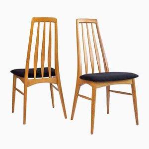 Eva Chairs by Niels Koefoed for Koefoeds Hornslet, Set of 3