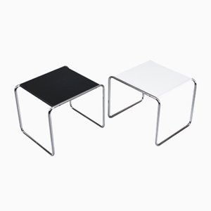 Side Tables by Marcel Breuer for Gavina / Knoll, Italy, Set of 2