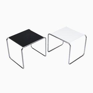 Tables d'Appoint par Marcel Breuer pour Gavina / Knoll, Italie, Set de 2