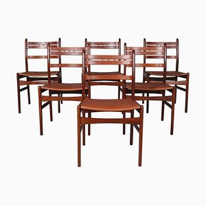 Esszimmerstühle von Arne Hovmand Olsen, 6er Set