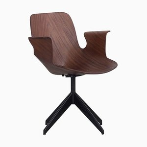 Swivel Office Chair from Medea, 1950s