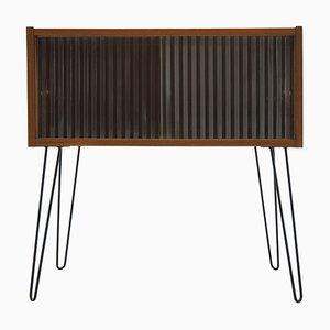 Upcycled Teak & Glass Cabinet, Denmark, 1960s