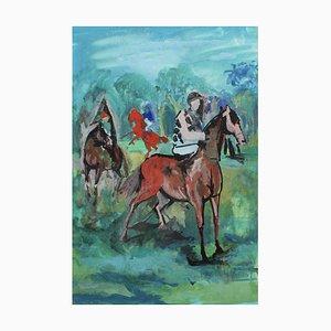 The Racing Horses by Pierre Gaillardot, 1970s