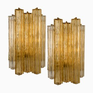 Large Wall Sconce in Murano Glass from Barovier & Toso