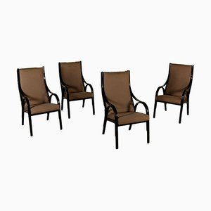 Cavour Armchairs, Set of 4