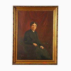 Großes weibliches Portrait, 1929