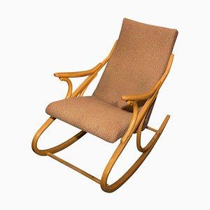 Mid-Century Bentwood Rocking Chair, Czechoslovakia, 1960s