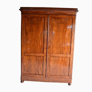Antique Mahogany Cupboard with Double Doors