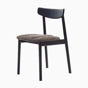Schwarzer Klee Chair 2 aus Eschenholz von Sebastian Herkner