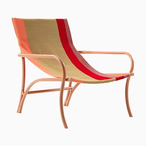 Naranja Maraca Lounge Chair by Sebastian Herkner
