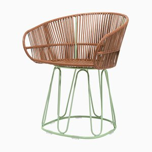 Circo Leather Dining Chair by Sebastian Herkner