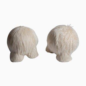 Fur Atlas Hocker von Pietro Franceschini, 2er Set
