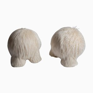 Fur Atlas Stools by Pietro Franceschini, Set of 2
