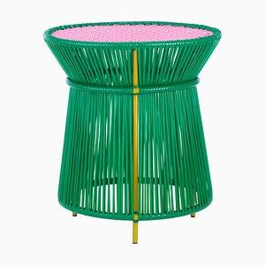 Green Caribe High Table by Sebastian Herkner