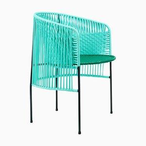 Mint Caribe Dining Chair by Sebastian Herkner