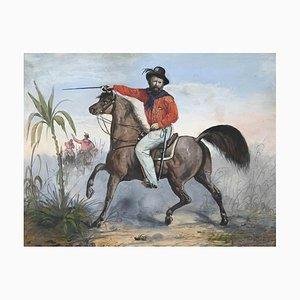 Unbekannt, Garibaldi, Original Mixed Media, 1850er