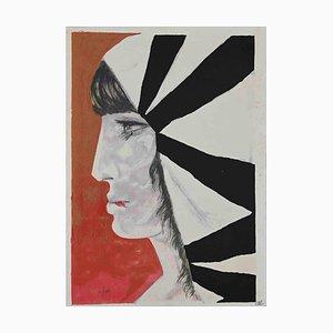 Inconnu, Le Portrait, Affiche, 1970s