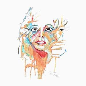 Enrico Josef Cucchi, Pieces of Soul, Dessin, 2020