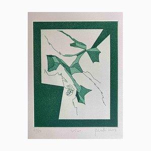 Achille Perilli, Mottetti, Radierung, 2002