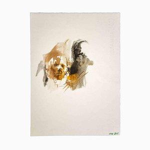 Leo Guide, The Portrait, Zeichnung, 1970er