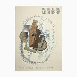 Cover für Behind the Mirror, Lithographie, George Braque, 1963