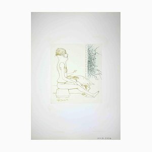 Leo Guide, Woman, Drawing, 1972