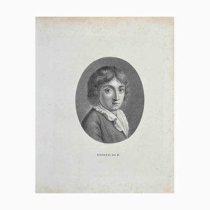 Thomas Holloway, Portrait, Etching, 1810