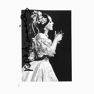 Unknown, Katia Ricciarelli Autographed Photographed, 1960s