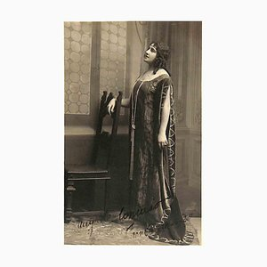 Unknown, Concato Augusta Autographed Photograph, 1926