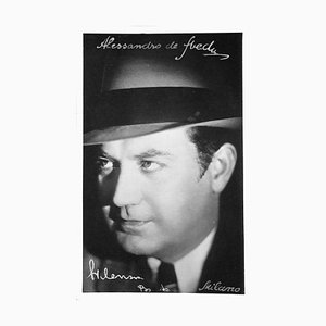 Unknown, Alexander Sved Autographed Photograph, 1950s