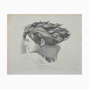 Thomas Holloway, Ritratto di Raffaello, Acquaforte, 1810