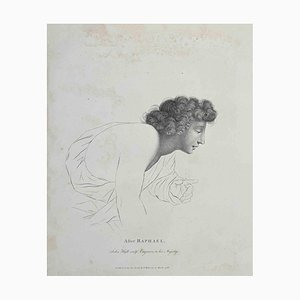 Thomas Holloway, Portrait of After Raphael, Etching, 1810